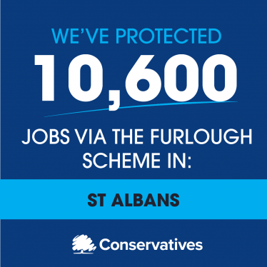 10,600 jobs protected by furlough in St Albans