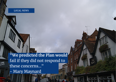 St Albans City Centre with quote